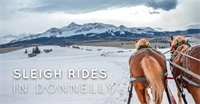 Sleigh Rides in Donnelly