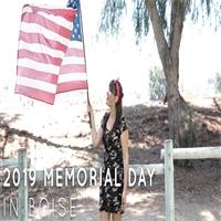 2019 Memorial Day in Boise