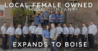 Local Female Owned HVAC Company Expands to Boise