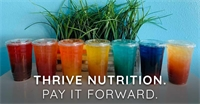 Thrive Nutrition. Pay it Forward. Thank A Hero.