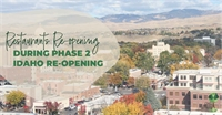 A Huge List of Treasure Valley Restaurants Opening This Weekend during Phase 2 Idaho Re-Opening