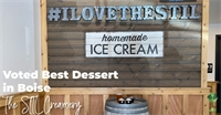 Voted Best Dessert in Boise 3 Years in a Row, The STIL Creamery is Boise's Most Unique Ice Cream Shop.
