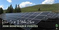 Boise Co-op & Idaho Power Join Renewable Forces