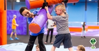Jumping For Joy at Altitude Trampoline Park in Boise