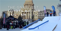 The Gnarliest Toyota Big-Air Rail Jam in Boise