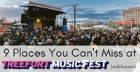 9 Places You Can't Miss At Treefort (and beyond)