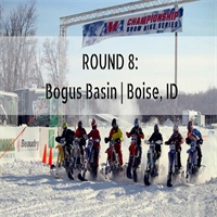 Round 8 AMA Championship Snow Bike Series at Bogus Basin