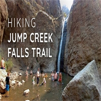 Hiking Jump Creek Falls Trail