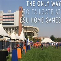 The Only Way to Tailgate at BSU Home Games