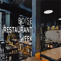 Boise Restaurant Week 2018