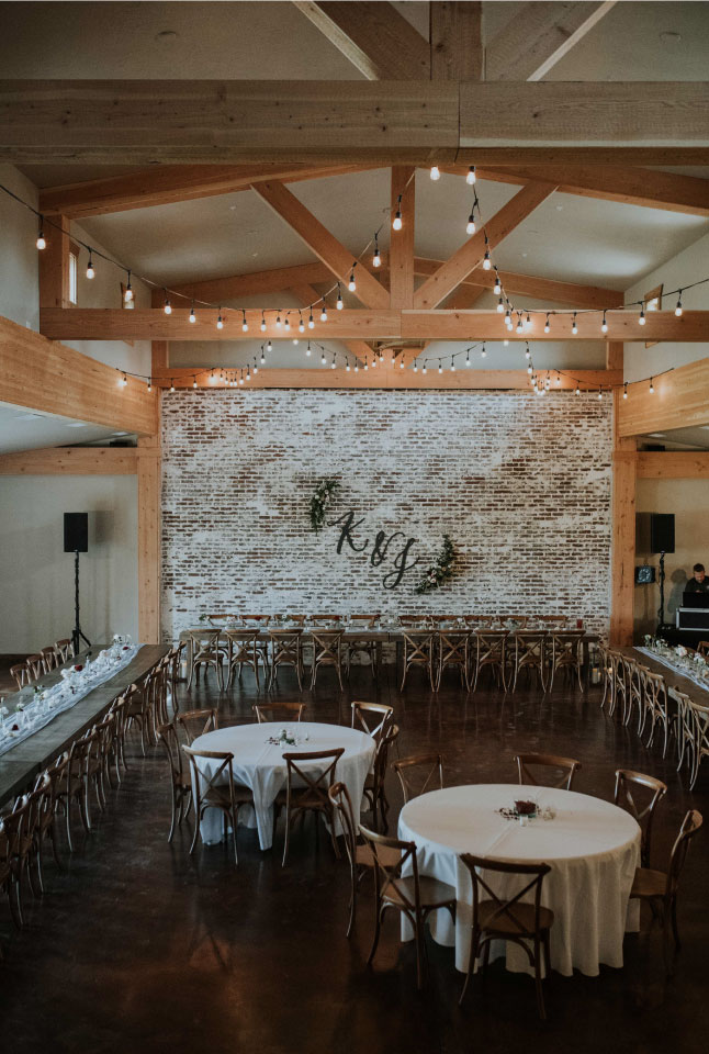 Wedding Venue by Sprout Design