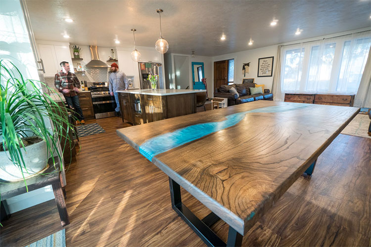 Residential hand-crafted woodwork by Heart of Timber in Boise
