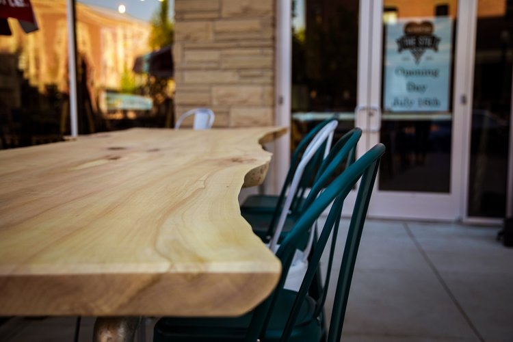 Commercial hand-crafted woodwork by Heart of Timber in Boise