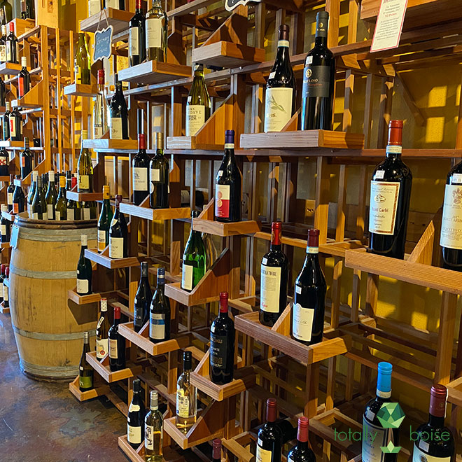 A New Vintage Wine Shop in Boise, owned and operated by Ilene Dudunake