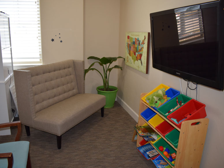 Highland Chiropractic Kids Waiting Room