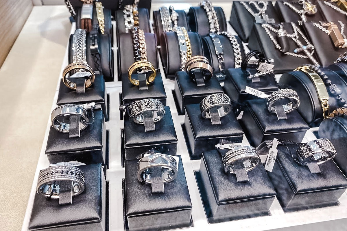 Watch Display Jewelry