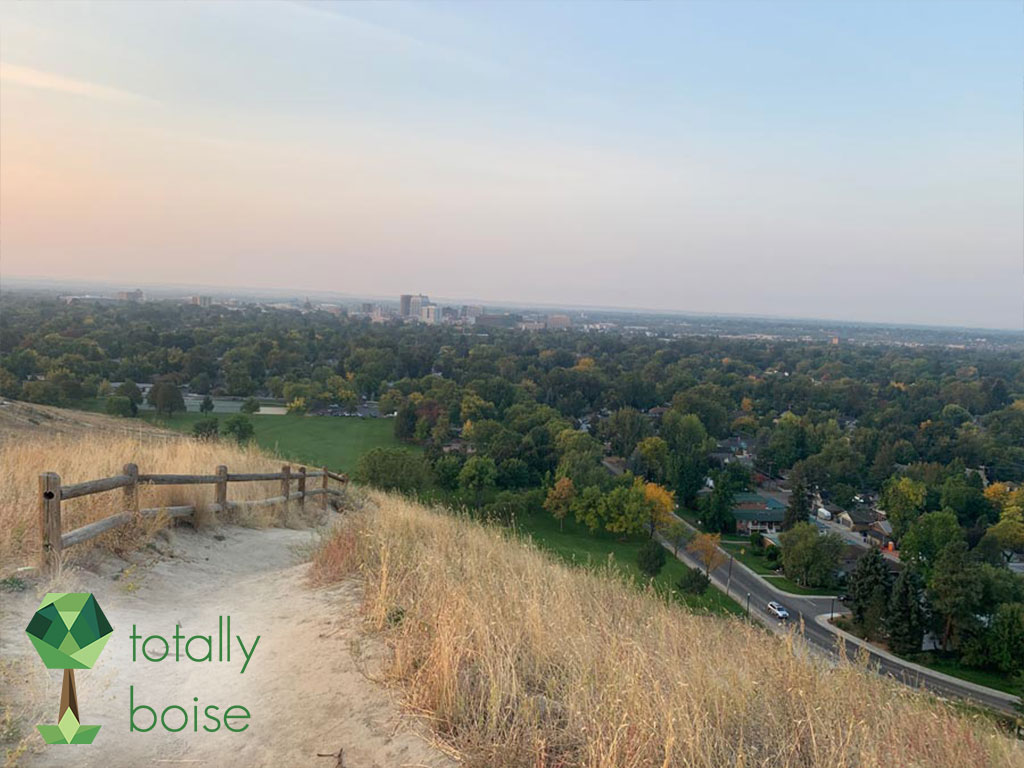 Hiking in October Totally Boise