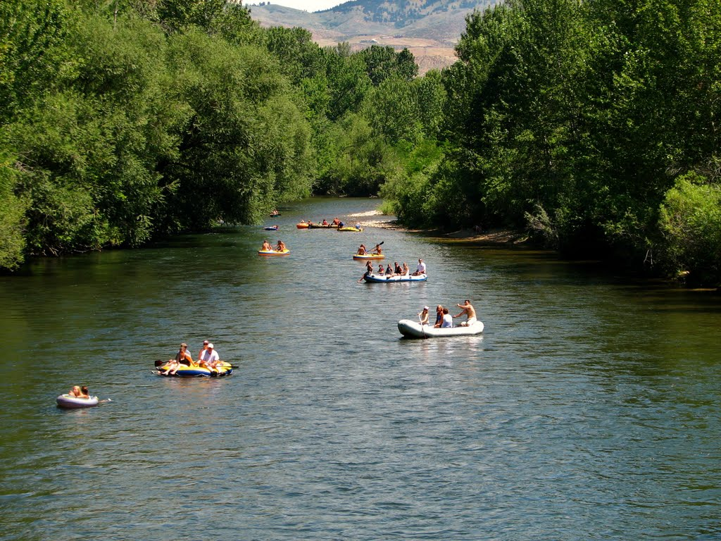 Boise River Annual Event called Let's Float