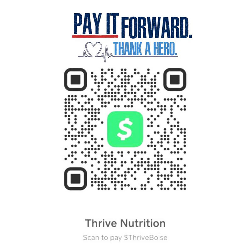 Thrive Nutrition CashApp in Boise