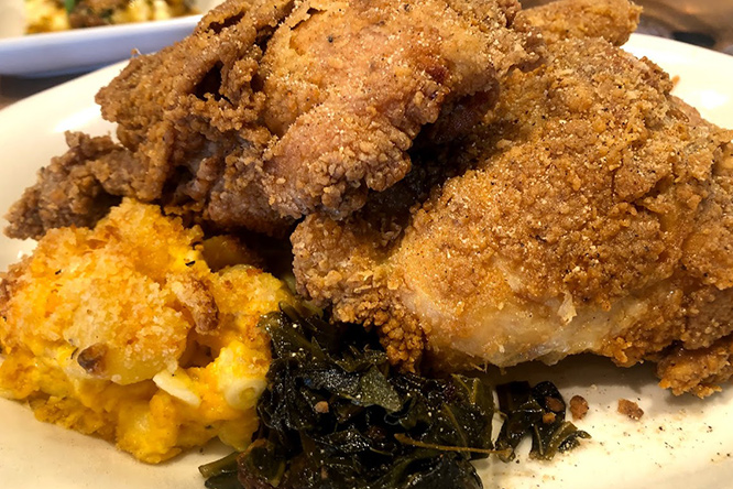 Honey Dusted Fried Chicken