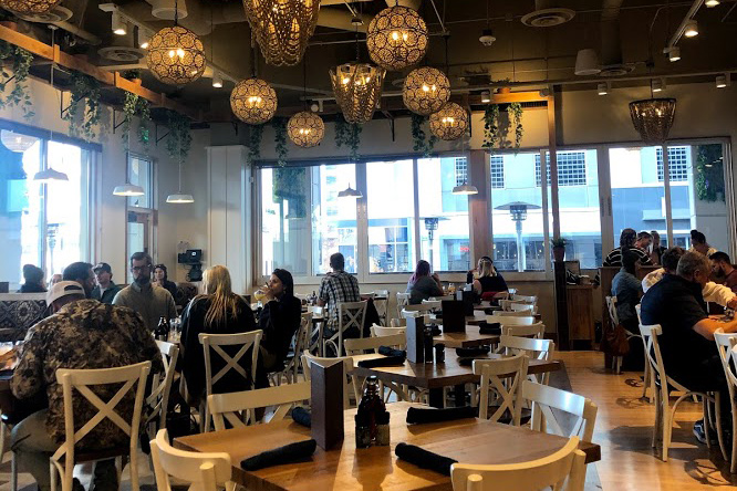 Inside the Tupelo Honey Cafe