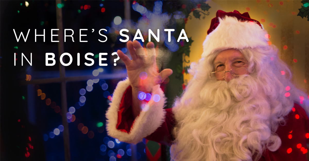 Where's Santa in Boise?