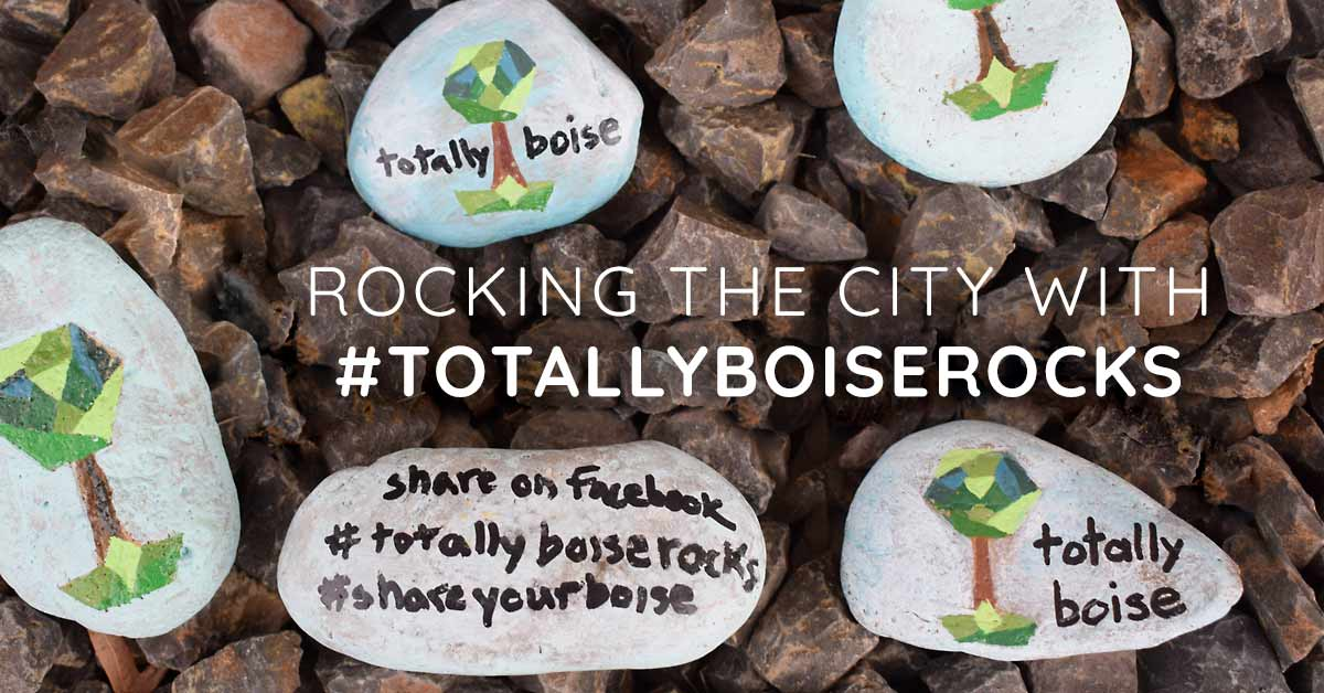 We're Rocking the City with #TotallyBoiseRocks