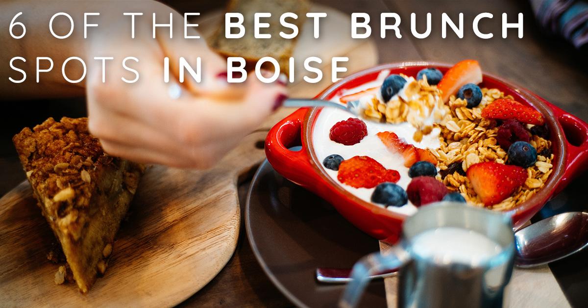 6 of the Best Brunch Spots in Boise