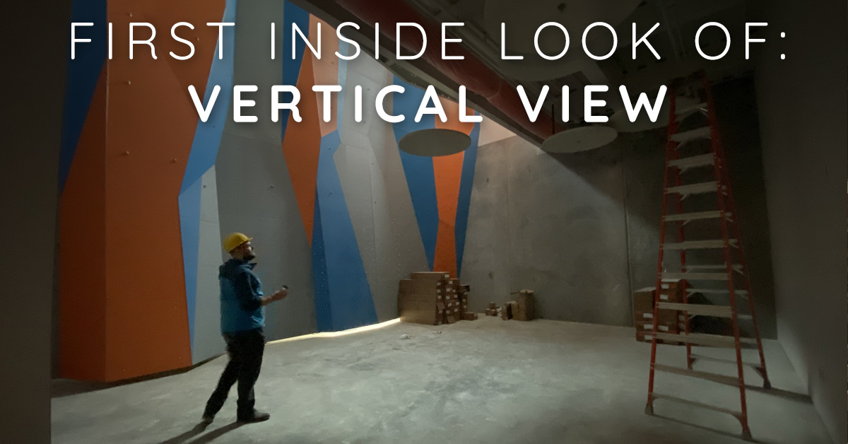 Your First Inside Look of Meridian's Vertical View Climbing Gym