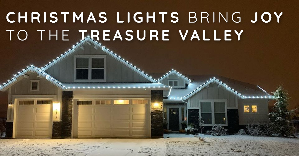 Boise Christmas Lights Installer Brings Joy to the Treasure Valley
