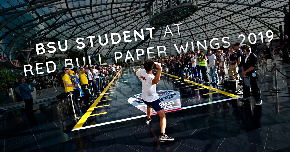 Boise State Student Will Compete in the Red Bull Paper Wings 2019 World Finals