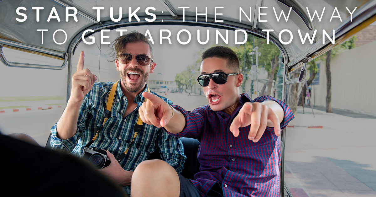 Star Tuks: The New Way to Get Around Town