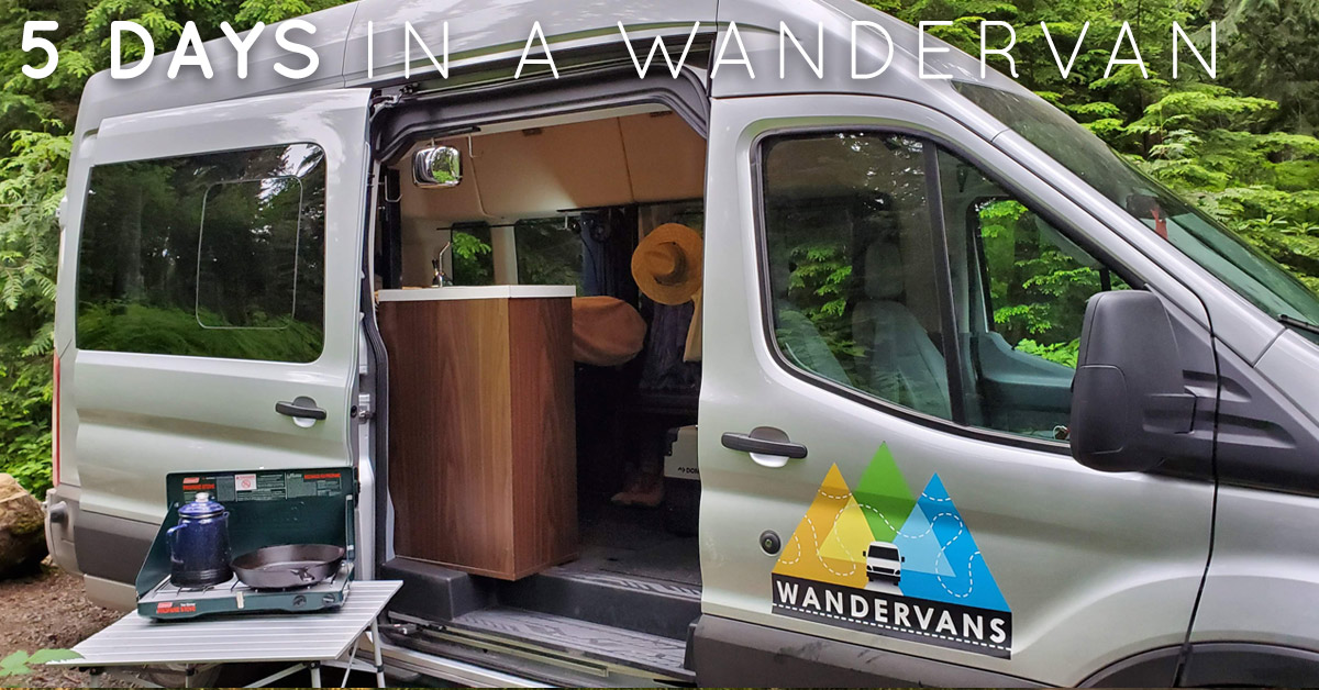 5 Days in a Wandervan