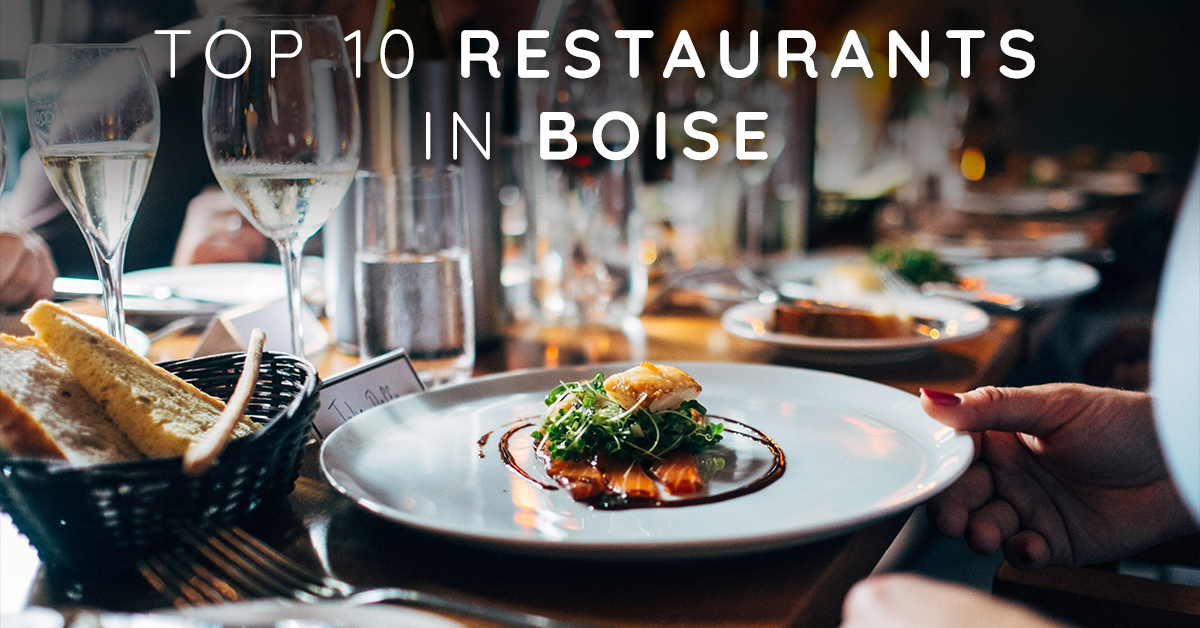 Top 10 Restaurants in Boise According to OpenTable