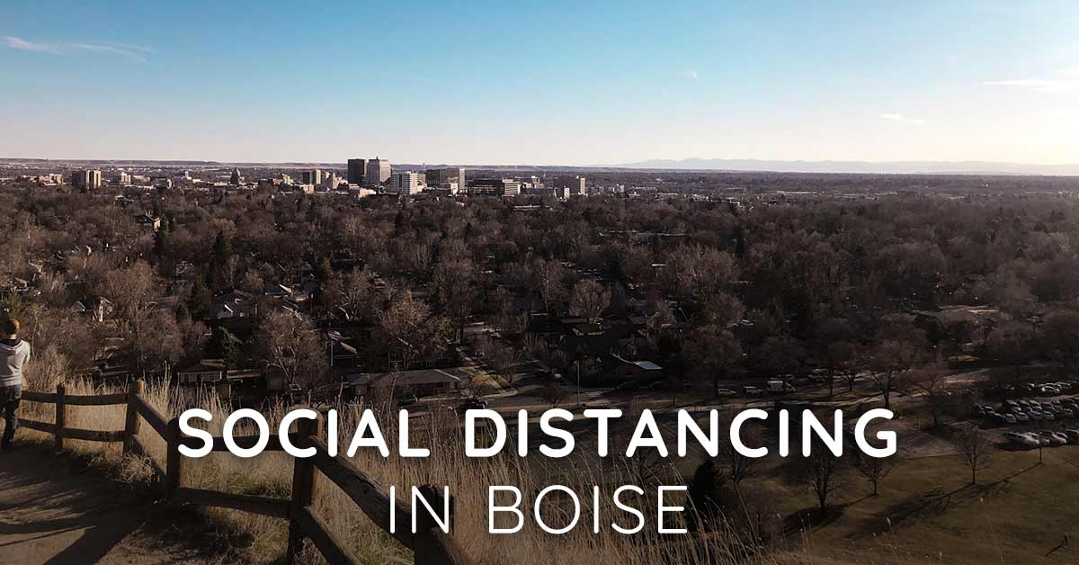 Tips on Social Distancing in Boise