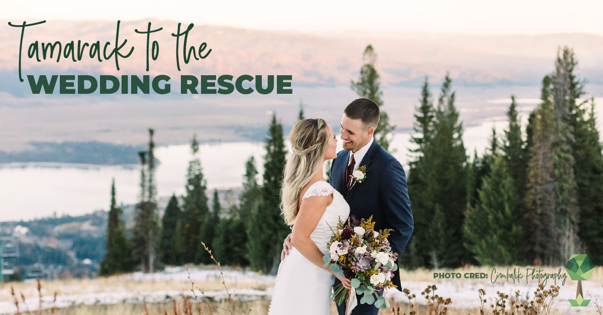 No Cancellations Here, Tamarack Resort to the Wedding Rescue!