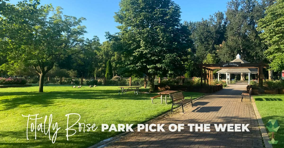 Totally Boise Park Pick of the Week: Julia Davis