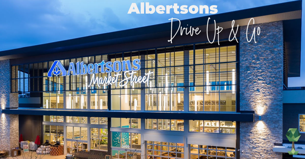 Albertsons Drive Up & Go Program Makes Grocery Shopping Effortless