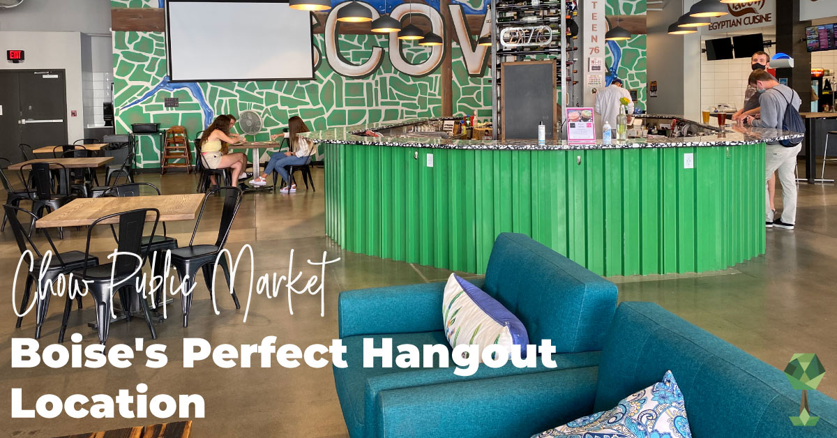 Chow Public Market: Boise's Perfect Hangout Location