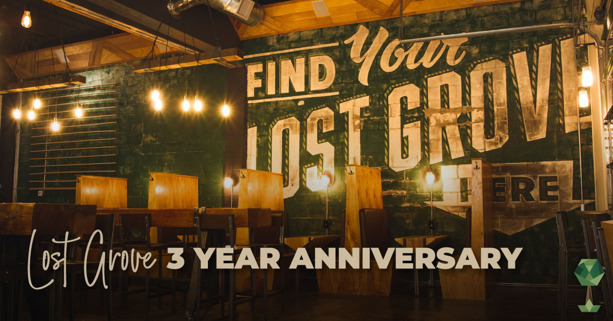 Celebrating 3 Years of Good Beer with Lost Grove Brewing