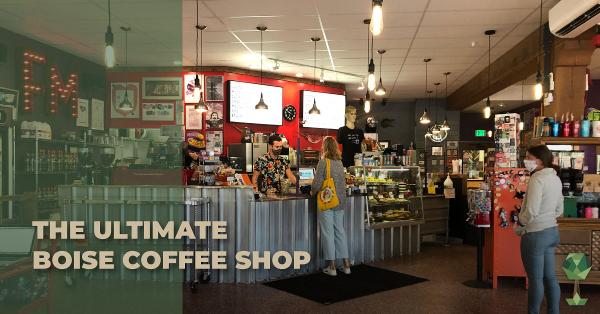 The Ultimate Boise Coffee Shop, Flying M Coffeehouse