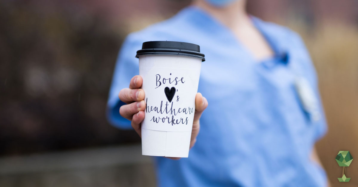 A $2 Coffee for Treasure Valley Healthcare Workers