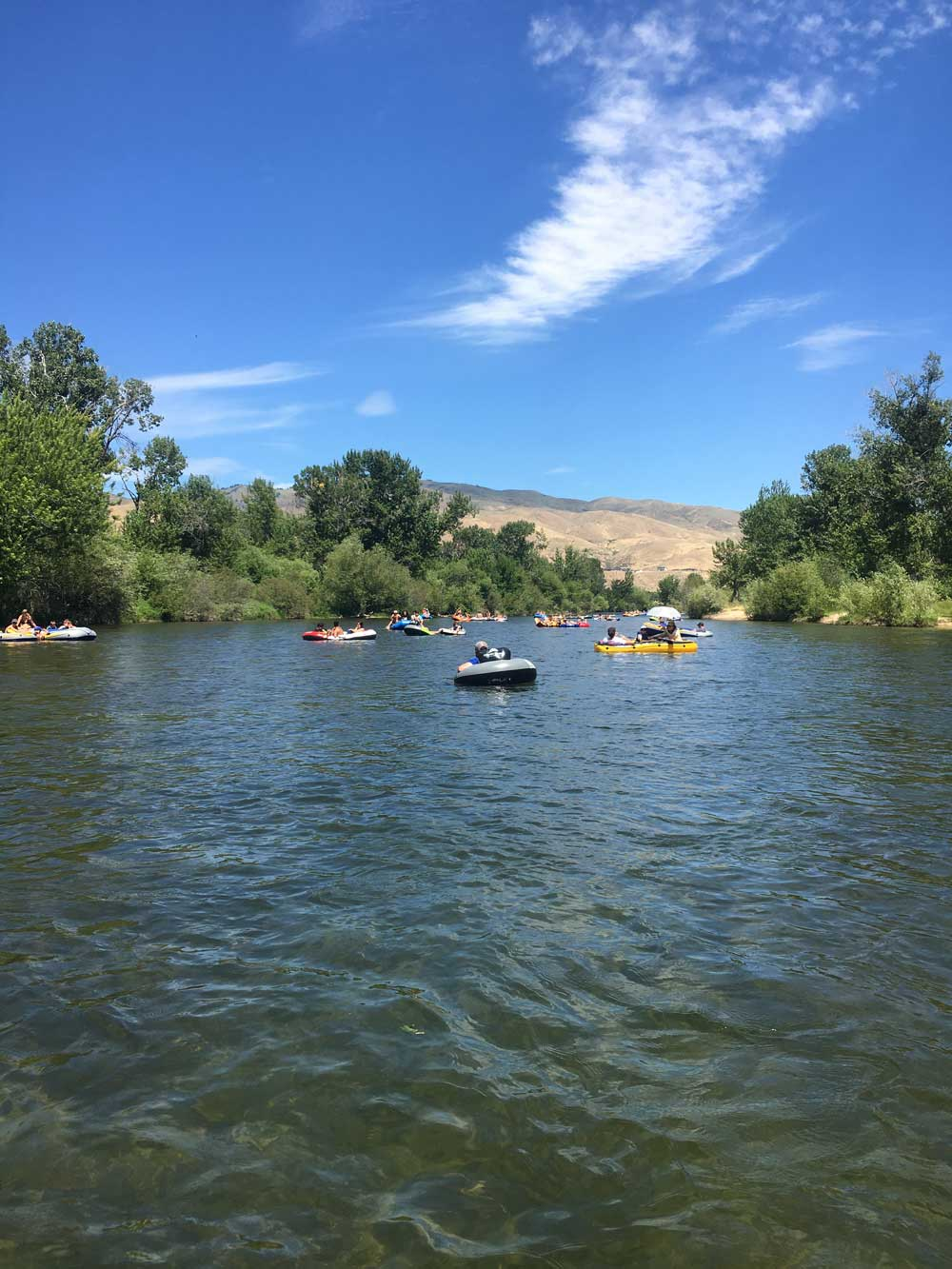float the boise river
