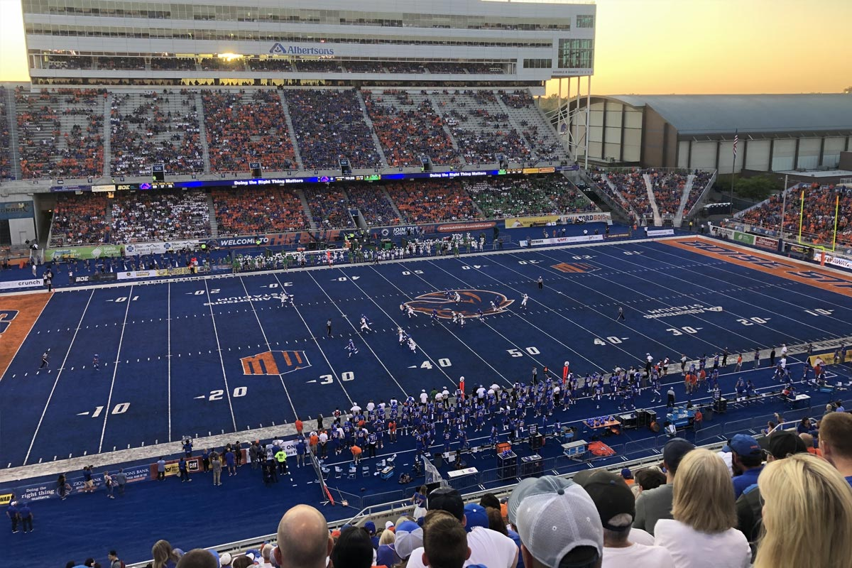 Albertsons Stadium Boise State University