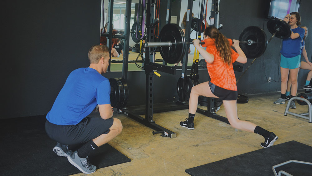 Idaho Fitness Academy weightlifting