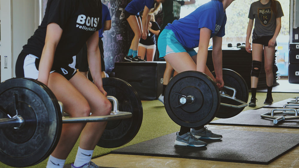 Idaho Fitness Academy weight training